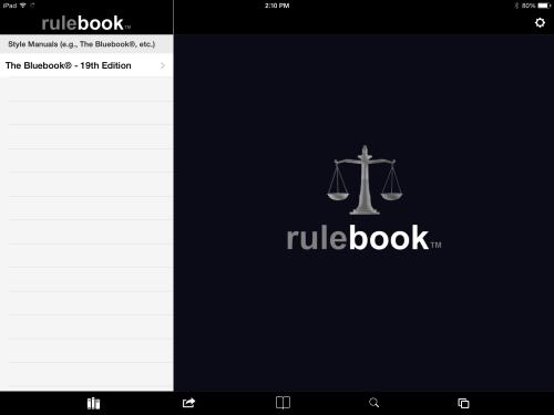 Rulebook 1